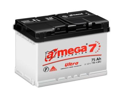 A-mega 7 Ultra 75Ah-790Aen R+ - фото 1
