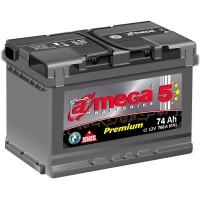 A-mega 5 Premium 74Ah-760Aen R+