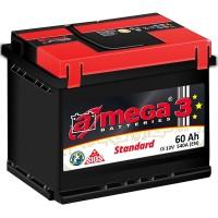 A-mega 3 Standard 60Ah-540Aen R+