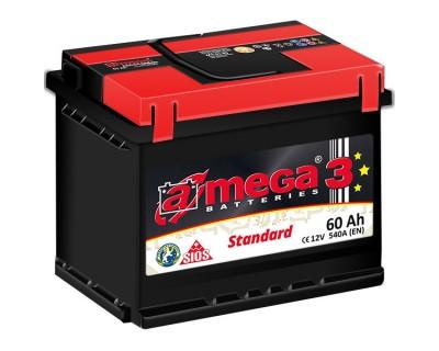 A-mega 3 Standard 60Ah-540Aen R+ - фото 1