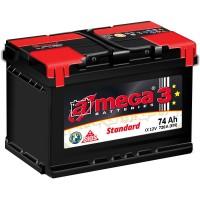 A-mega 3 Standard 74Ah-720Aen R+