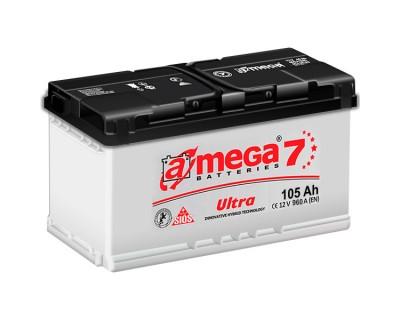 A-mega 7 Ultra 105Ah-960Aen R+ - фото 1