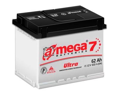 A-mega 7 Ultra 62Ah-610Aen L+ - фото 1