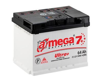 A-mega 7 Ultra Plus 64Ah-640Aen R+ - фото 1