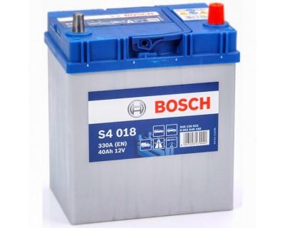 Bosch S4 (S4 018) 6 CT-40Ah-330A(en) Jis (0) R+ - фото 1