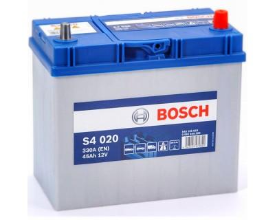 Bosch S4 (S4 020) 6 CT-45Ah-330A(en) Jis (0) R+ - фото 1