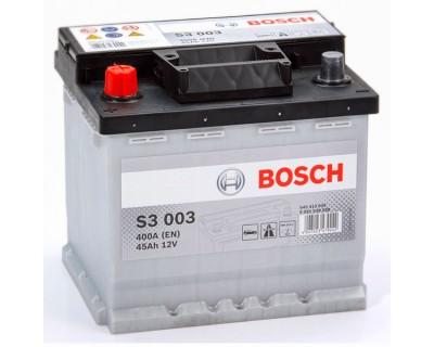 Bosch S3 (S3 003) 6 CT-45Ah-400A(en) (1) L+ - фото 1