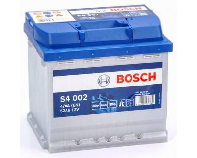 Bosch S4 (S4 002) 6 CT-52Ah-470A(en) (0) R+ - фото 1