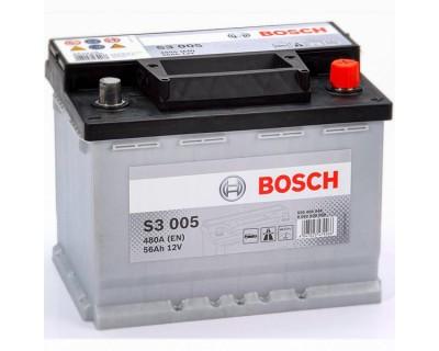 Bosch S3 (S3 005) 6 CT-56Ah-480A(en) (0) R+ - фото 1