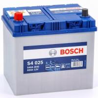Bosch S4 (S4 025) 6 CT-60Ah-540A(en) Jis (1) L+