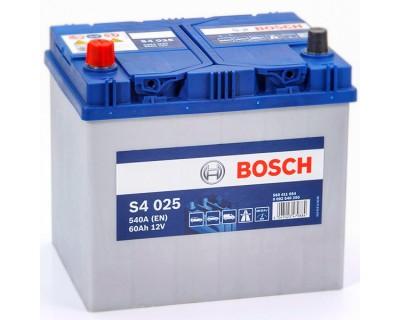 Bosch S4 (S4 025) 6 CT-60Ah-540A(en) Jis (1) L+ - фото 1