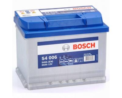 Bosch S4 (S4 006) 6 CT-60Ah-540A(en) (1) L+ - фото 1