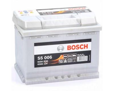 Bosch S5 (S5 006) 6 CT-63Ah-610A(en) (1) L+ - фото 1