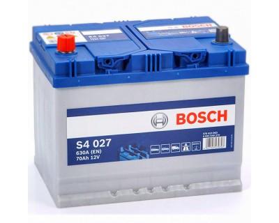 Bosch S4 (S4 027) 6 CT-70Ah-630A(en) Jis (1) L+ - фото 1