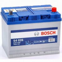 Bosch S4 (S4 026) 6 CT-70Ah-630A(en) Jis (0) R+