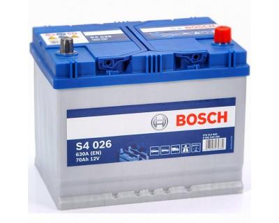 Bosch S4 (S4 026) 6 CT-70Ah-630A(en) Jis (0) R+ - фото 1