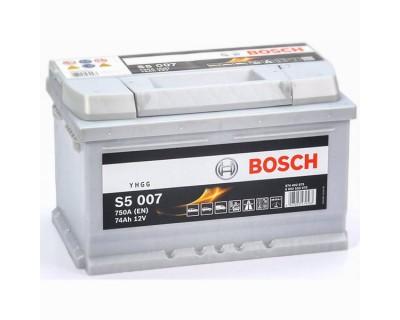 Bosch S5 (S5 007) 6 CT-74Ah-750A(en) h-175 (0) R+ - фото 1
