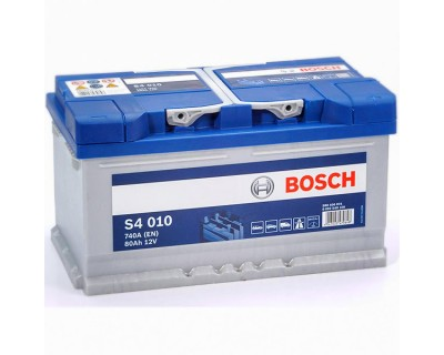 Bosch S4 (S4 010) 6 CT-80Ah-740A(en) h-175 (0) R+ - фото 1