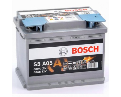 Bosch S5 AGM (S5 A05) 6 CT-60Ah-680A(en) (0) R+ - фото 1