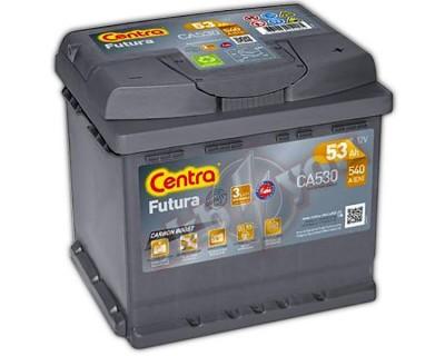 Centra Futura CA530(6 CT-53) 53Ah-540Aen R+ - фото 1