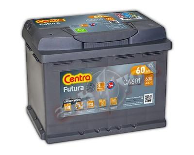 Centra Futura CA601 (6 CT-60) 60Ah-600Aen L+ - фото 1