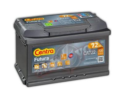 Centra Futura CA722 (6 CT-72) h-175 72Ah-720Aen R+ - фото 1