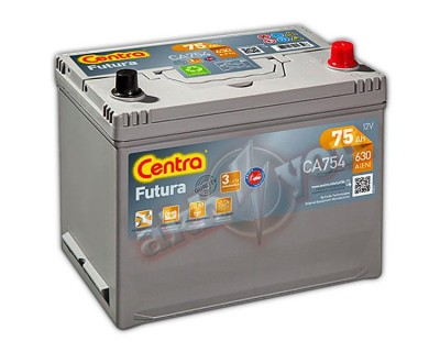 Centra Futura CA754 (6 CT-75) 75Ah-630Aen R+ - фото 1