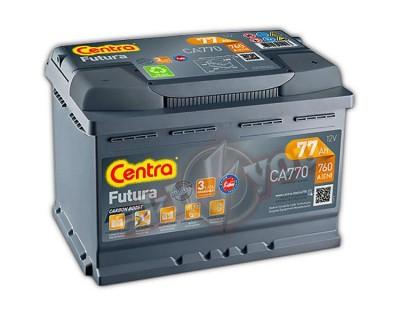 Centra Futura CA770 (6 CT-77) 77Ah-760Aen R+ - фото 1