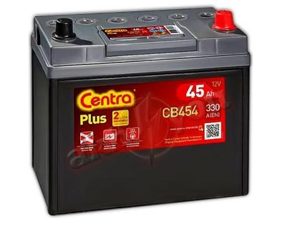 Centra Plus CB454 (6 CT-45) 45Ah-330Aen R+ - фото 1