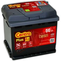 Centra Plus CB501 (6 CT-50) 50Ah-450Aen L+