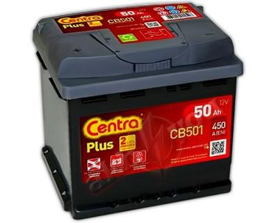 Centra Plus CB501 (6 CT-50) 50Ah-450Aen L+ - фото 1