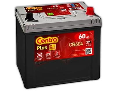 Centra Plus CB604 (6 CT-60) 60Ah-390Aen R+ - фото 1