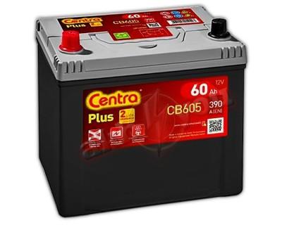 Centra Plus CB605 (6 CT-60) 60Ah-390Aen L+ - фото 1
