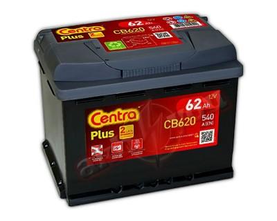 Centra Plus CB620 (6 CT-62) 62Ah-540Aen R+ - фото 1
