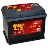 Centra Plus CB621 (6 CT-62) 62Ah-540Aen L+