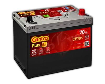 Centra Plus CB704 (6 CT-70) 70Ah-540Aen R+ - фото 1
