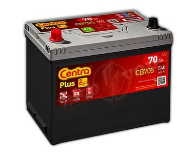 Centra Plus CB705 (6 CT-70) 70Ah-540Aen L+ - фото 1
