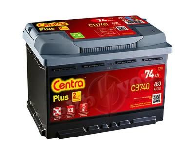 Centra Plus CB740 (6 CT-74) 74Ah-680Aen R+ - фото 1