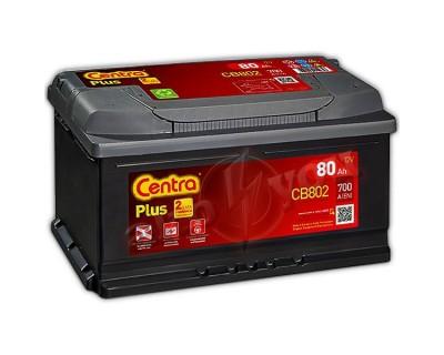 Centra Plus CB802 (6 CT-80) h-175 80Ah-700Aen R+ - фото 1