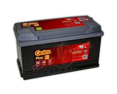 Centra Plus CB950 (6 CT-95) 95Ah-800Aen R+ - фото 1