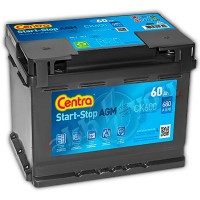 Centra Start-Stop AGM CK600 (6 CT-60) 60Ah-680Aen R+