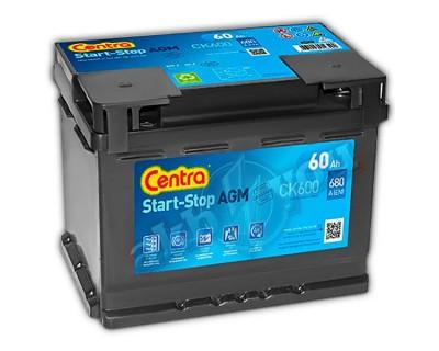 Centra Start-Stop AGM CK600 (6 CT-60) 60Ah-680Aen R+ - фото 1