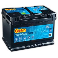 Centra Start-Stop AGM CK700 (6 CT-70) 70Ah-760Aen R+