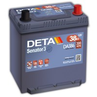 Deta Senator3 DA386 (6 CT-38) 38Ah-300Aen R+