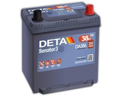 Deta Senator3 DA386 (6 CT-38) 38Ah-300Aen R+ - фото 1