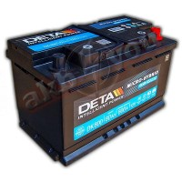 Deta Intelligent Power AGM DK800 (6 CT-80) 80Ah-800Aen R+