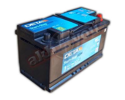 Deta Start-Stop AGM DK950 (6 CT-95) 95Ah-850Aen R+ - фото 1