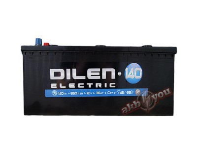 Dilen Electric (6 CT-140) 140Ah-850Aen L+ - фото 1