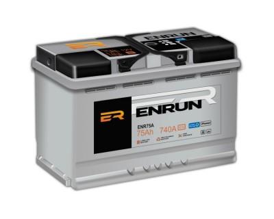 Enrun Standart 75Ah-740Aen R+ - фото 1