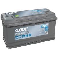 Exide Premium EA1000 (6 CT-100) 100Ah-900Aen R+